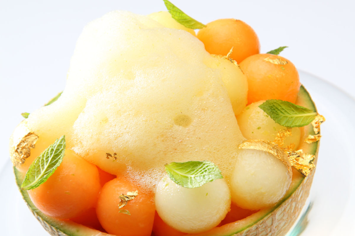 Granita al melone e prosciutto