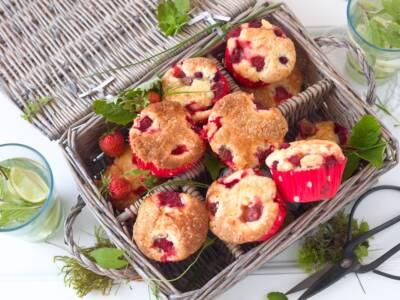 Ricetta salva-fragole: golosi muffin, da decorare a piacere