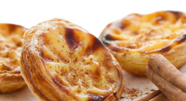 Pastel de nata, il dolce portoghese per eccellenza