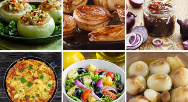 Ricette con cipolle: i migliori piatti da gustare tutto l'anno