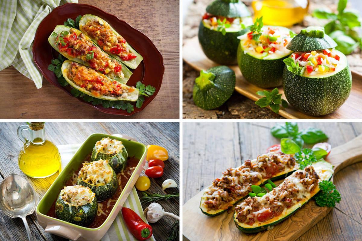 ricette di zucchine ripiene
