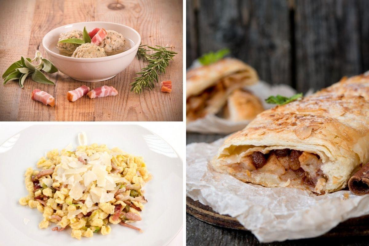 piatti tipici del Trentino Alto Adige