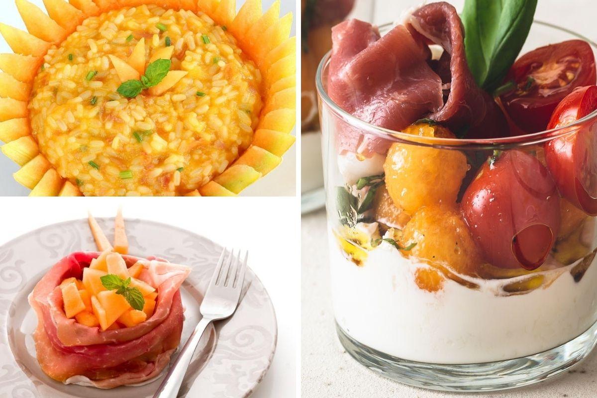 ricette con prosciutto e melone