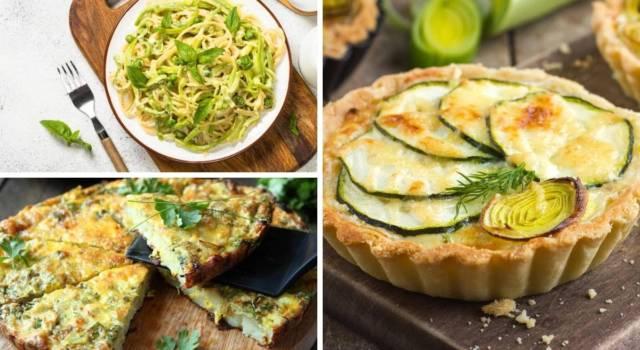 Le migliori ricette con zucchine: 10 preparazioni gustose!