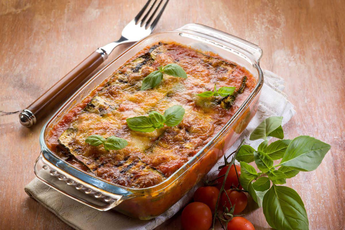 Versione con le zucchine grigliate