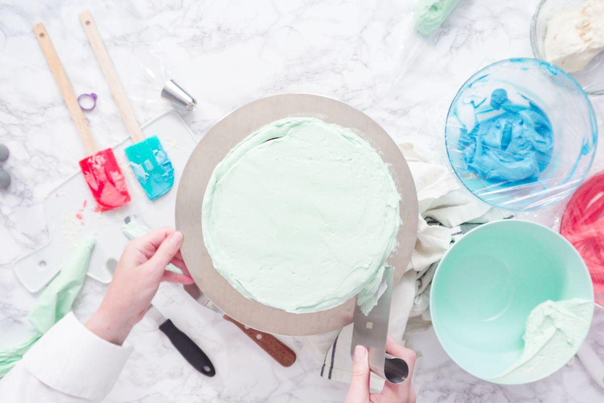 Stuccare torta