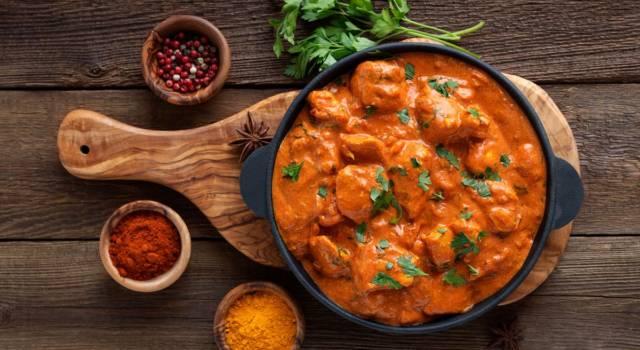 Speziato e cremoso, il pollo tikka masala è tra le ricette indiane più buone
