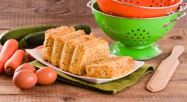 Goloso polpettone di verdure al forno: squisito è dire poco!