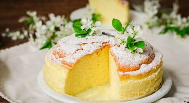 Chi vuole una fetta di torta? È leggerissima con solo 60 calorie a porzione!