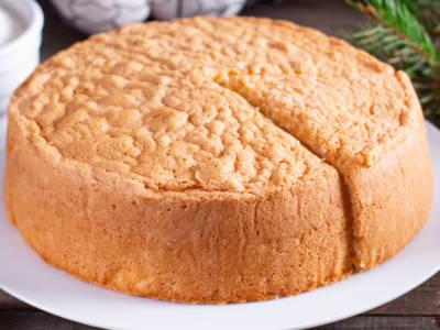 Cercate una torta senza farina? Provate la torta degli Angeli