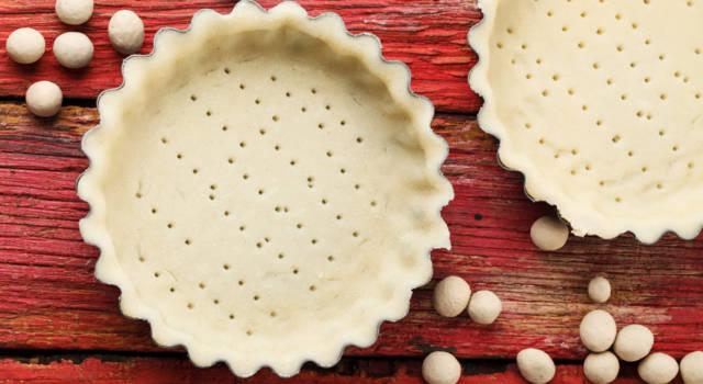 Provate la pasta frolla all'acqua: fragrante come l'originale ma molto più leggera