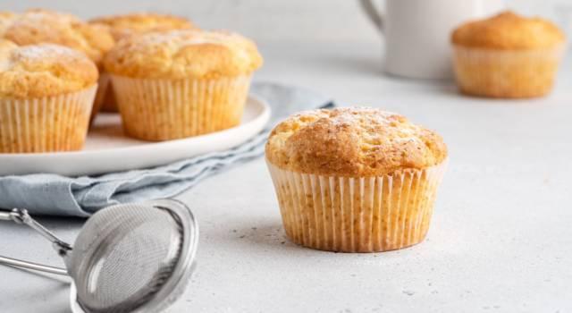 Cercate un dolcetto veloce? I muffin 8 cucchiai sono la ricetta che fa per voi