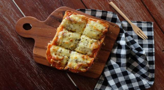 Pizza toast: il vostro nuovo comfort food preferito