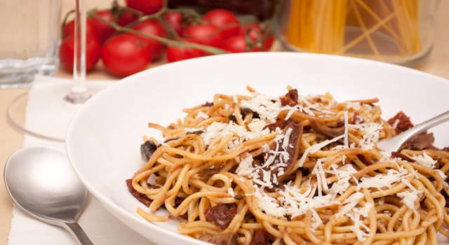 Cercate un primo piatto facile e veloce? Provate gli spaghetti alla trappitara