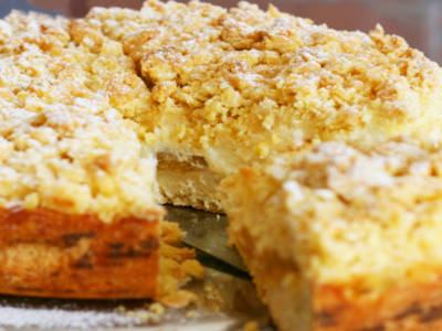 Questa torta di briciole è un mostro… di bontà!
