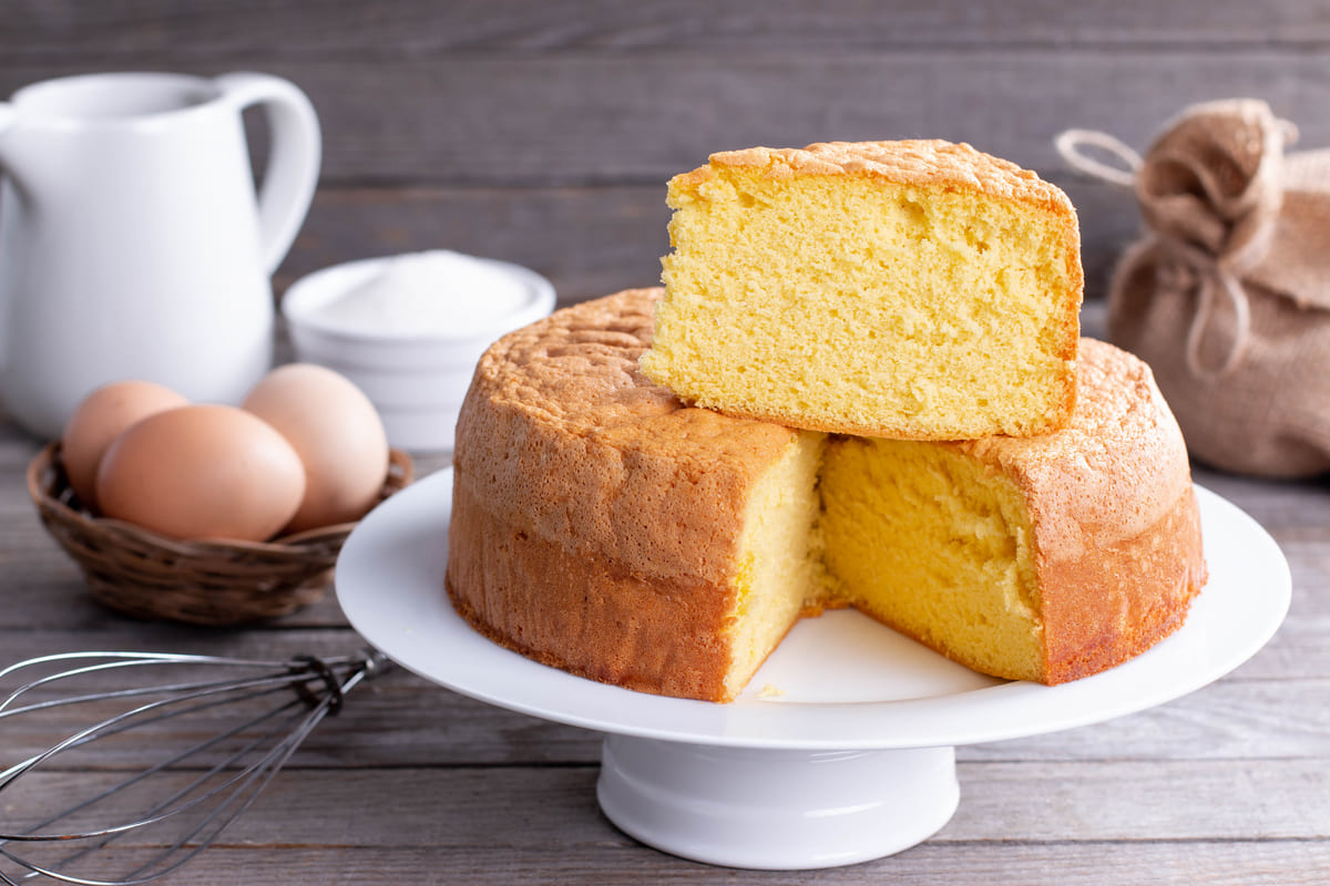 Torta con impasto mille torte