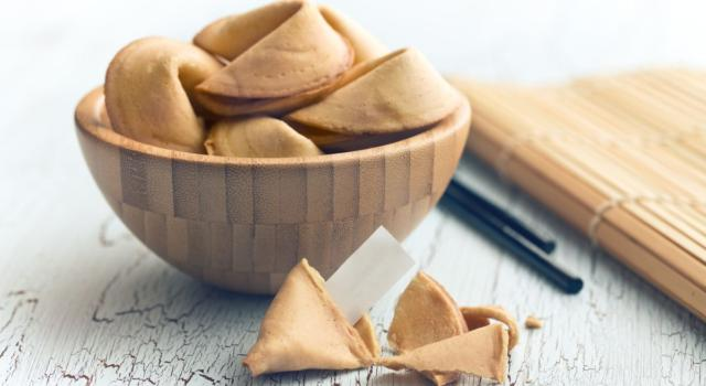 La ricetta dei biscotti della fortuna: che non sono cinesi!