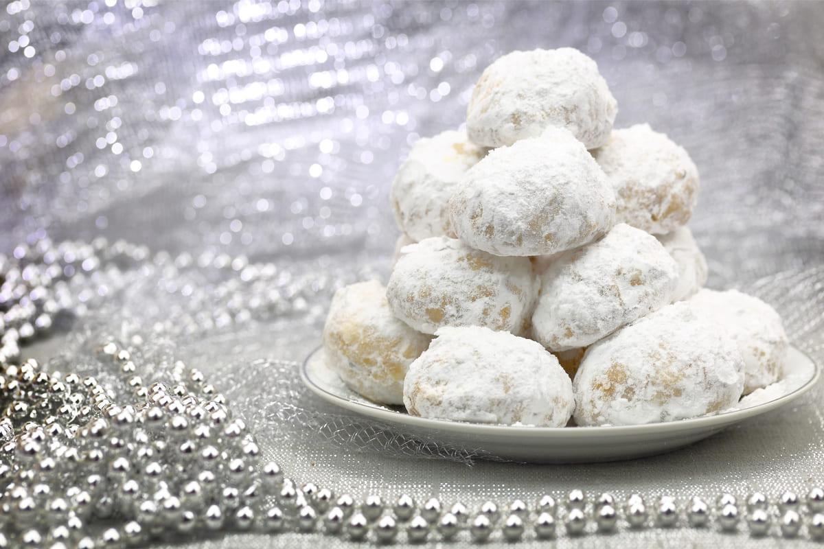 Biscotti palla di neve