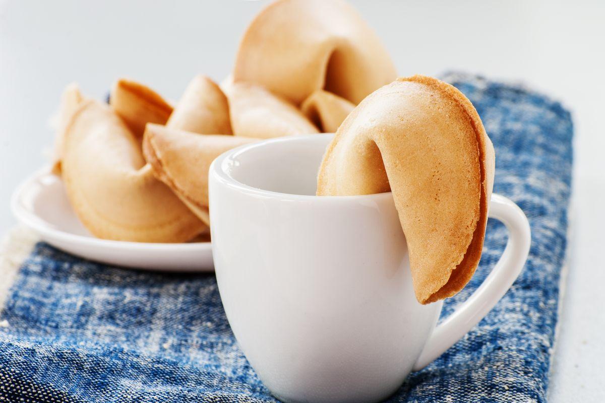 Cottura biscotti della fortuna