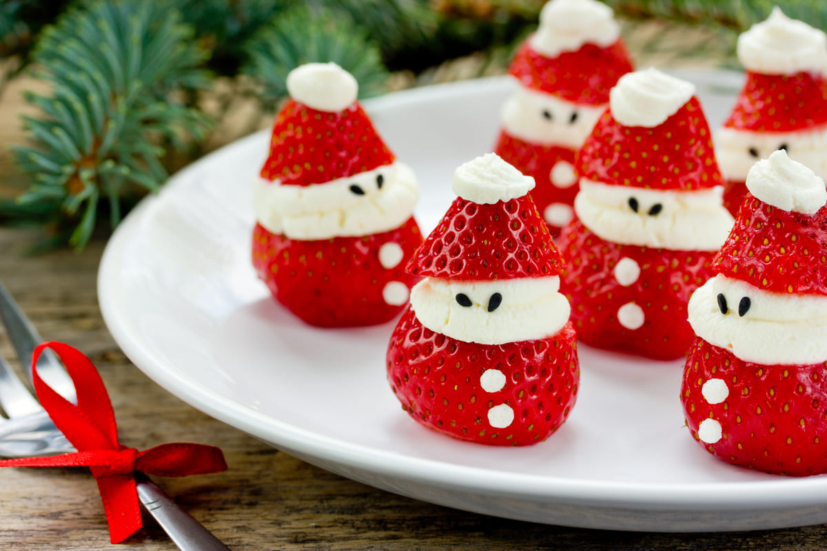 Fragole Babbo Natale
