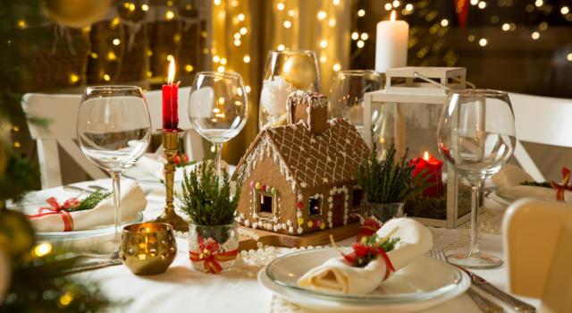 Centrotavola natalizi e idee per apparecchiare la tavola delle Feste