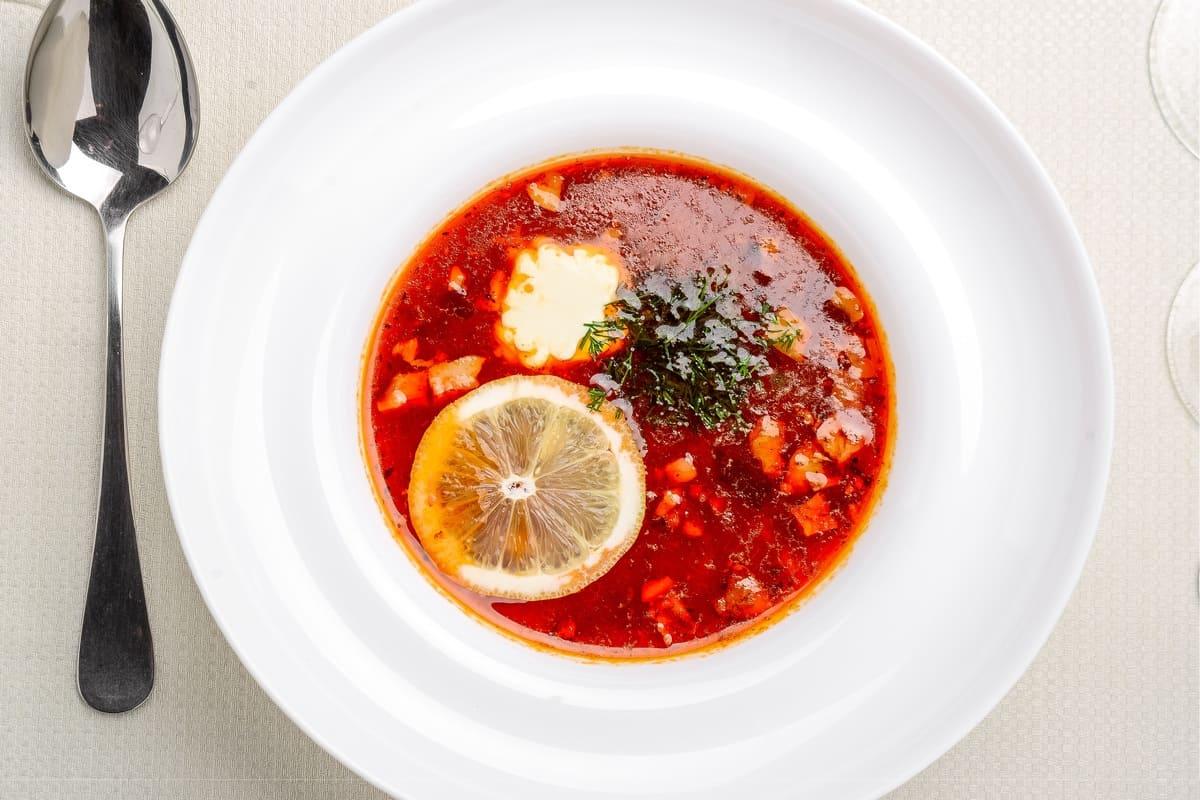 zuppa di finta tartaruga