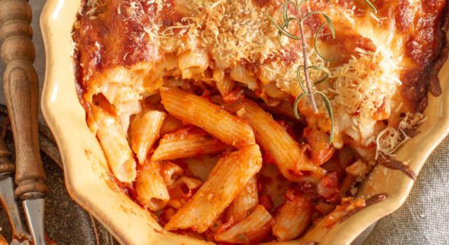 Pasta pasticciata al forno: la ricetta che vi farà innamorare!