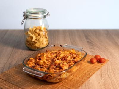 Tagliatelle al forno: ingredienti e ricetta per un primo piatto strepitoso