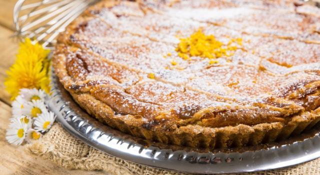 Pastiera napoletana con crema pasticcera: impossibile resisterle
