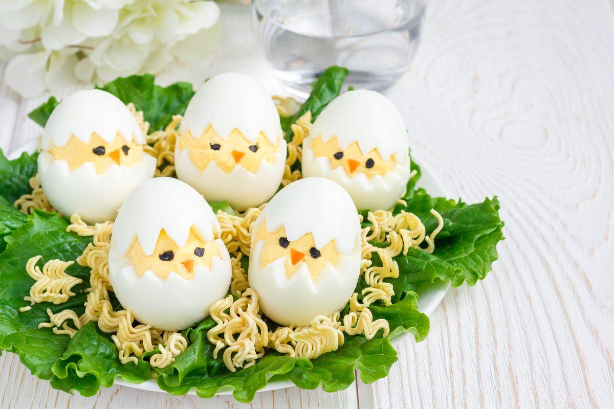 Uova camuffate da pulcini