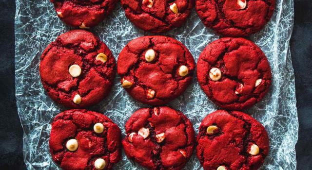 Biscotti red velvet: originali e perfetti per ogni occasione