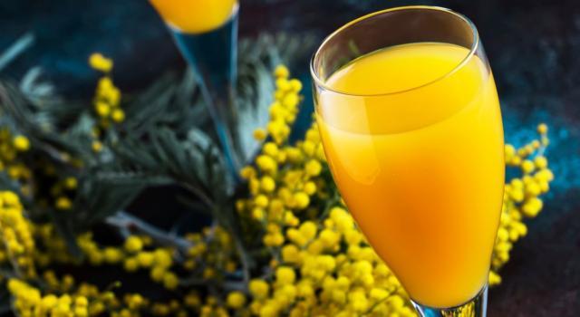 Come preparare il mimosa cocktail: ingredienti e ricetta!