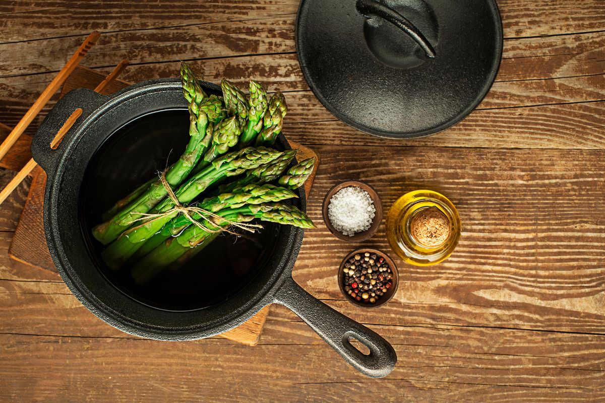 Cottura degli asparagi