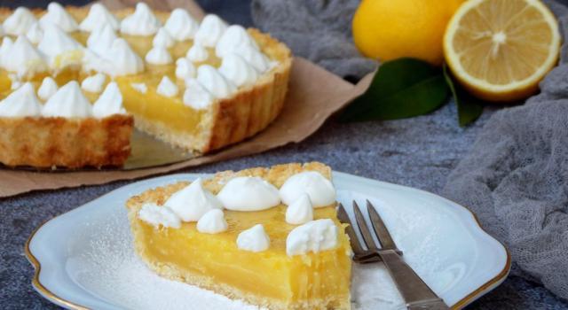 Crostata con crema pasticcera: semplicemente irresistibile