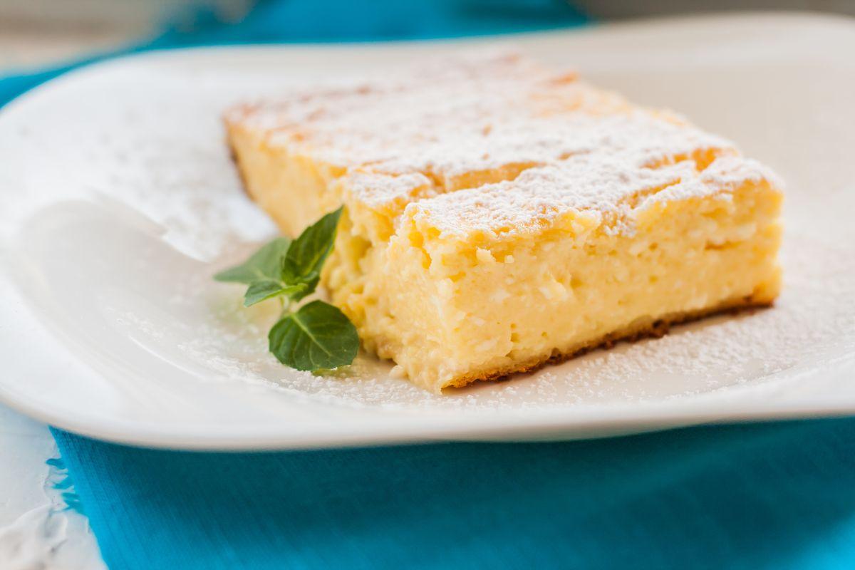 torta cremosa alla ricotta e limone