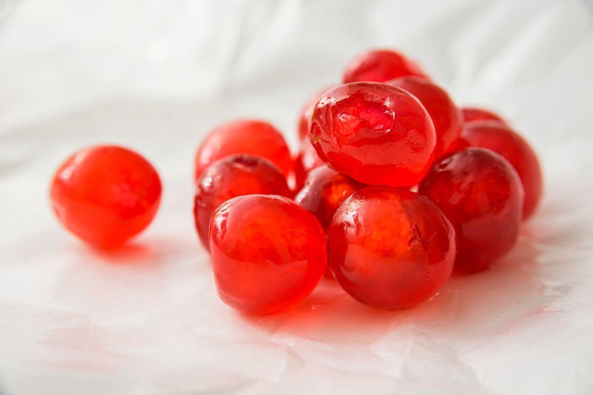 ciliegie candite