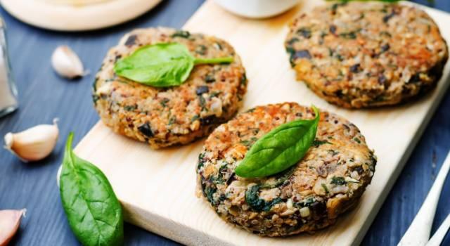 Fate il pieno di verdure con i nostri hamburger di melanzane