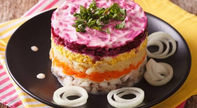 Insalata shuba: un piatto russo tutt'altro che leggero!