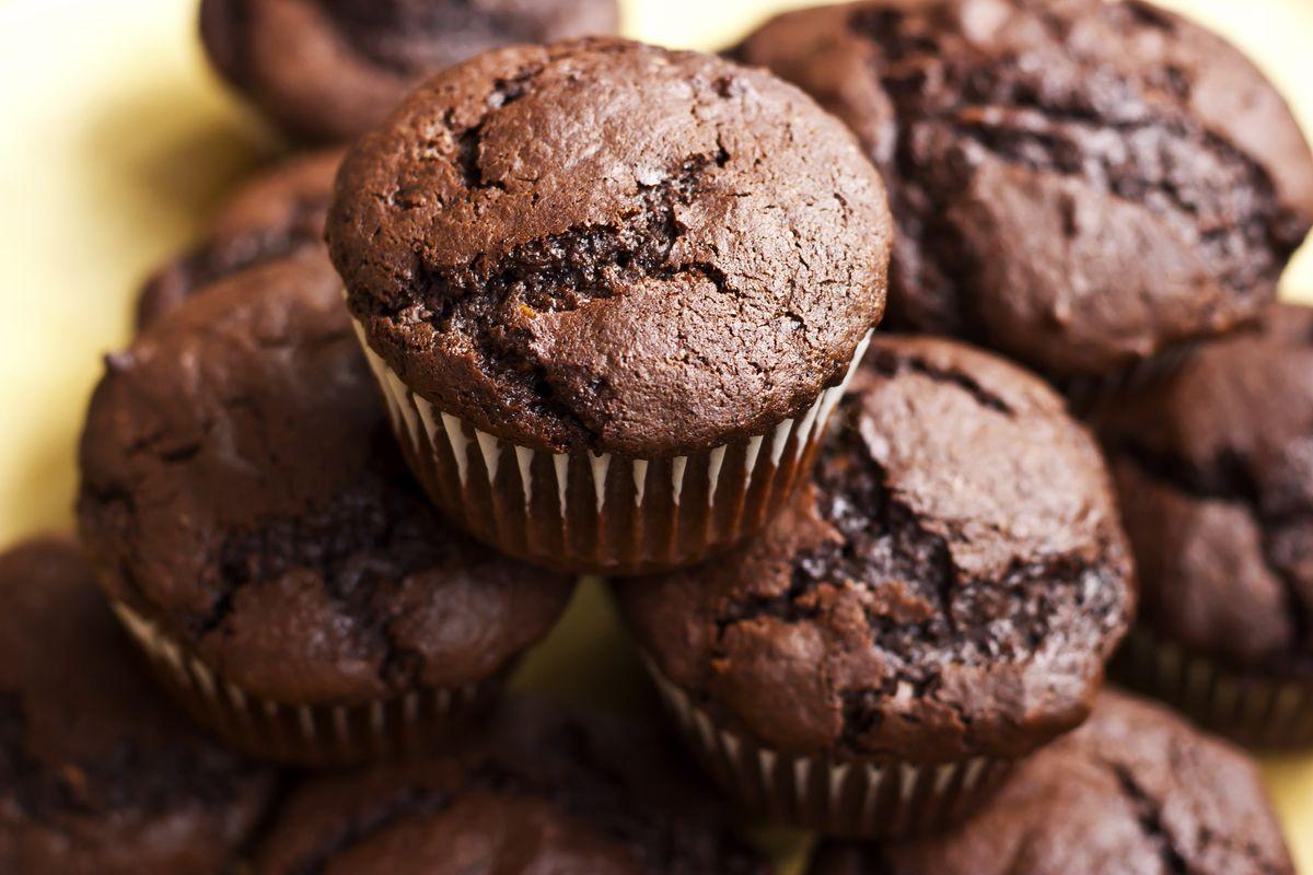 Muffin veg al cioccolato