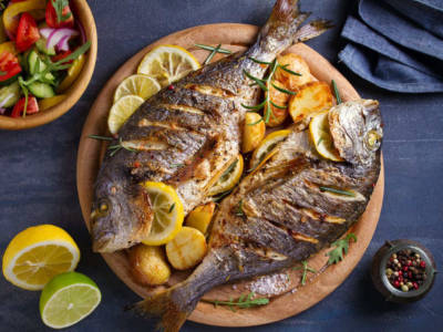 Grigliata di pesce? Perché non provare l'orata alla griglia!