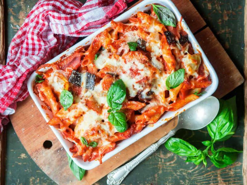 Pasta alla siciliana… e non chiamatela pasta al forno!