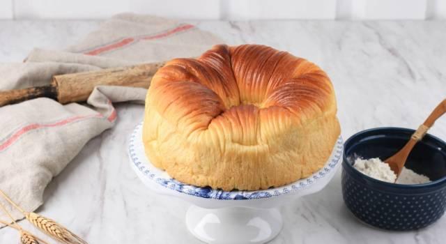 Soffice come la lana, la torta gomitolo vi conquisterà al primo assaggio