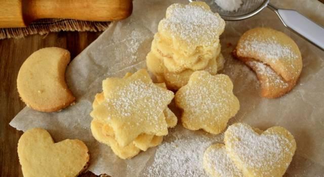 Strepitosi questi biscotti senza uova!