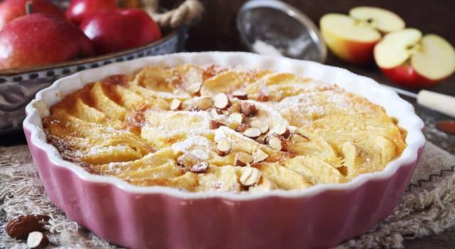 Clafoutis di mele: un dolce perfetto come fine pasto