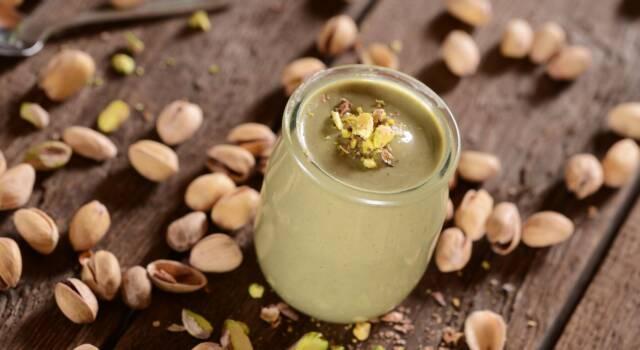 Quanto è semplice preparare la crema al pistacchio con il Bimby?