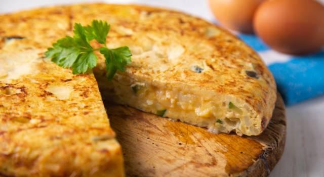 Frittata di zucchine al forno: leggera e gustosa