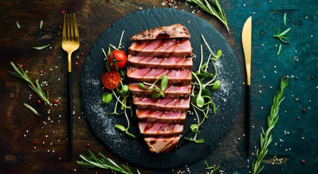 Cercate un secondo di pesce facile? Provate il tonno al forno