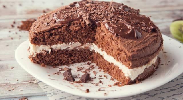 Torta cioccolato e panna, perfetta per ogni occasione