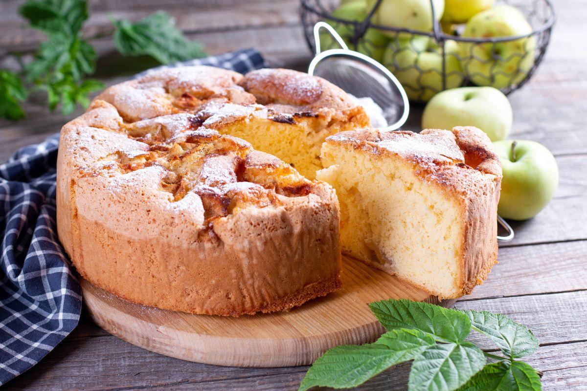 Torta di mele di Cannavacciuolo