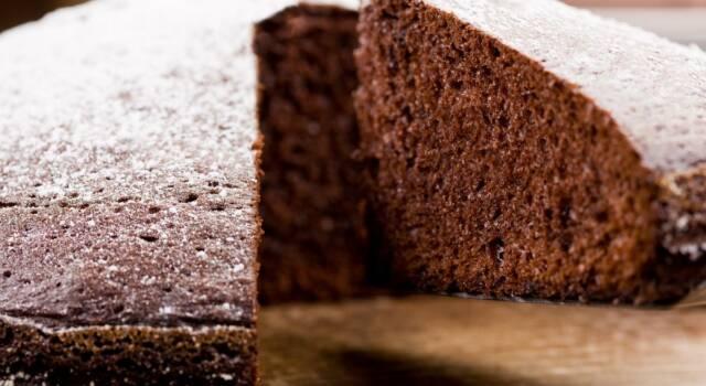 Torta al cioccolato light: il dolce leggero ma con tutto il gusto del cioccolato!